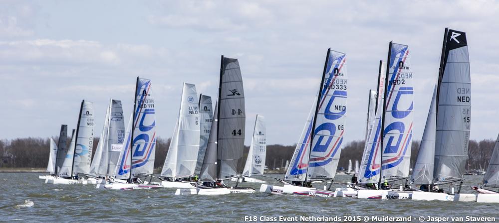 F18 Class Event 2015 - Muiderzand (Netherlands)-2879