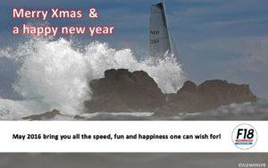 De beste wensen aan alle zeilers. Namens het F18.nl Bestuur!