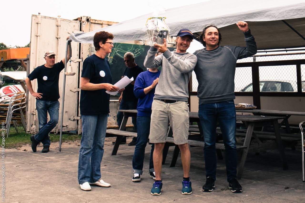 Zeekant-Begemann winnen F18 KE Catpoint 2016 (Ouddorp)